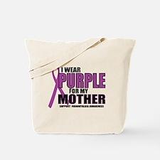 Fibromyalgia:Purple For Mother Tote Bag