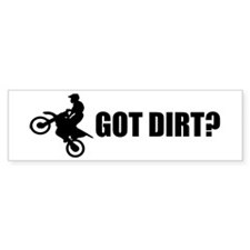 Got Dirt Bike Design Bumper Sticker