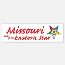 Missouri Eastern Star Bumper Bumper Bumper Sticker