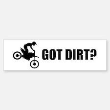 Got Dirt Bike Design Bumper Bumper Sticker