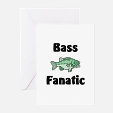 Bass Fanatic Greeting Cards (Pk of 10)