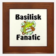 Basilisk Fanatic Framed Tile
