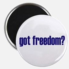 "Got Freedom? Classic 2.25"" Magnet (10 pack)"