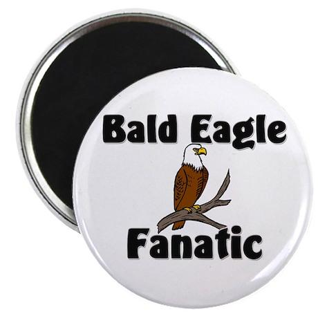 "Bald Eagle Fanatic 2.25"" Magnet (10 pack)"
