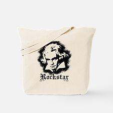 Beethoven Rockstar Tote Bag