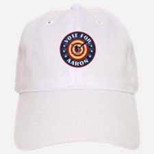 Vote for Aaron Personalized Baseball Baseball Cap