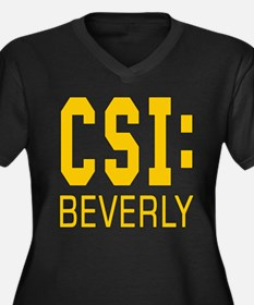 Personalized CSI Beverly Women's Plus Size V-Neck