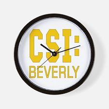 Personalized CSI Beverly Wall Clock
