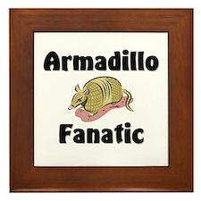Armadillo Fanatic Framed Tile