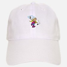 Cute Hockey Girl Baseball Baseball Cap