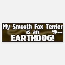 Smooth Fox Terrier Earthdog Bumper Bumper Bumper Sticker