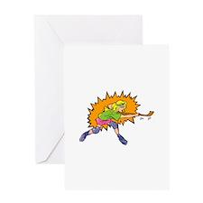 Slapshot! Greeting Card