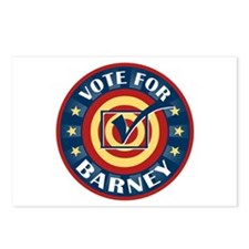 Vote for Barney Personalized Postcards (Package of