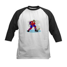 Hardcore Hockey Girl Tee