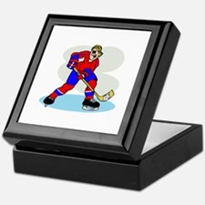 Hardcore Hockey Girl Keepsake Box