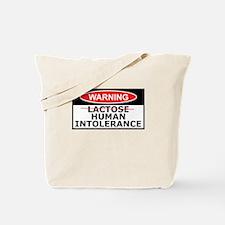 Lactose intolerance spoof Tote Bag