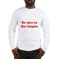 Umpire Long Sleeve T-Shirt