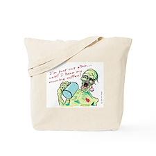 Coffee Zombie Tote Bag