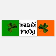 Brody Coat of Arms Car Car Sticker