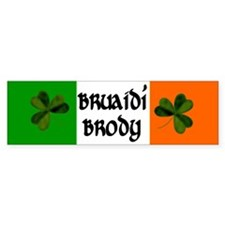 Brody Coat of Arms Car Sticker