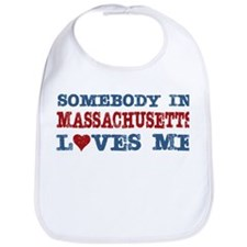 Somebody in Massachusetts Loves Me Bib