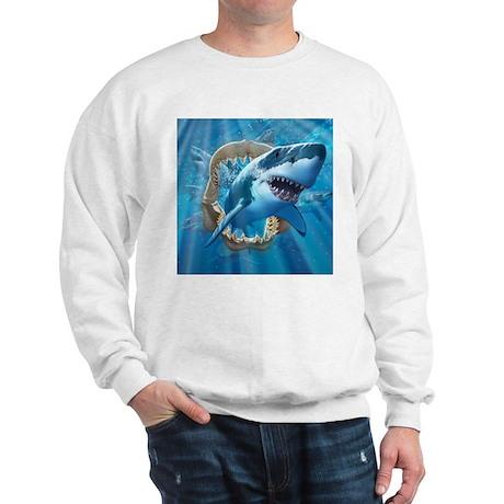 Great White 1 Sweatshirt