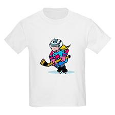 Blonde Hockey Girl T-Shirt