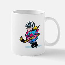Blonde Hockey Girl Mug