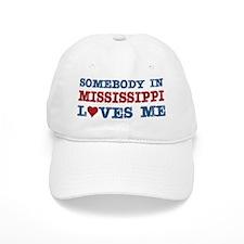 Somebody in Mississippi Loves Me Baseball Cap