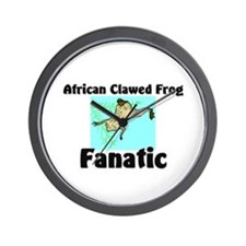 African Clawed Frog Fanatic Wall Clock