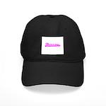 Softball Therapy P Black Cap