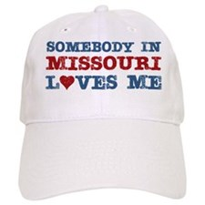 Somebody in Missouri Loves Me Baseball Cap
