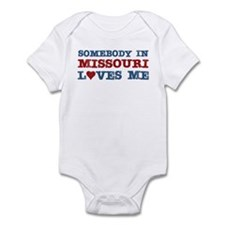 Somebody in Missouri Loves Me Infant Bodysuit