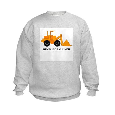Bucket Loader Kids Sweatshirt