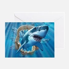 Great White 1 Greeting Card