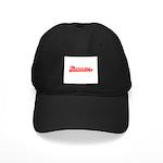 Softball Therapy R Black Cap