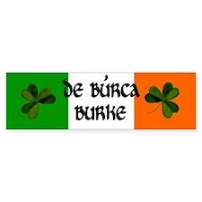Burke Coat of Arms Bumper Sticker