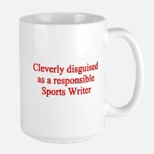 Sports Writer Large Mug