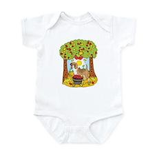 Fall Beagle Infant Bodysuit