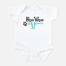 Bow Wow Meow Infant Bodysuit