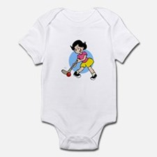 Hockey Chick Infant Bodysuit