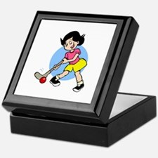 Hockey Chick Keepsake Box