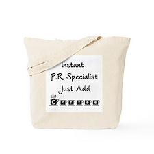 PR Specialist Tote Bag