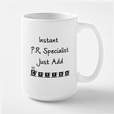 PR Specialist Large Mug