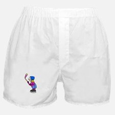 Ice Hockey Chick Boxer Shorts