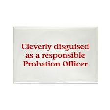 Probation Officer Rectangle Magnet (10 pack)