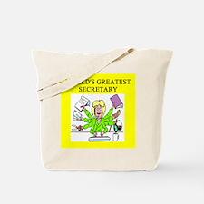 secretary gifts t-shirts Tote Bag