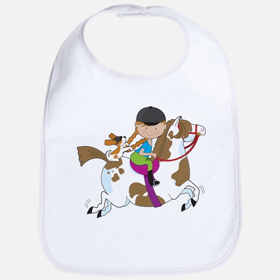 Horsey Holly Bib