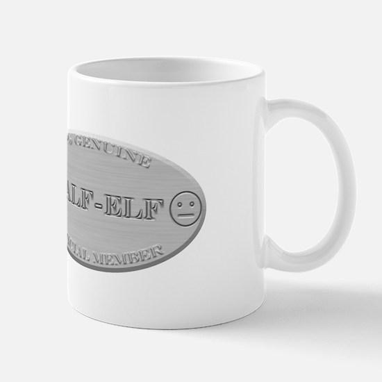 Brushed Steel - Half Elf Pride Mug