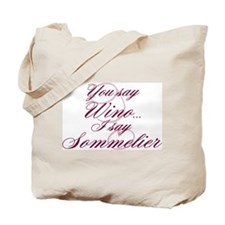Wino or Sommelier Tote Bag